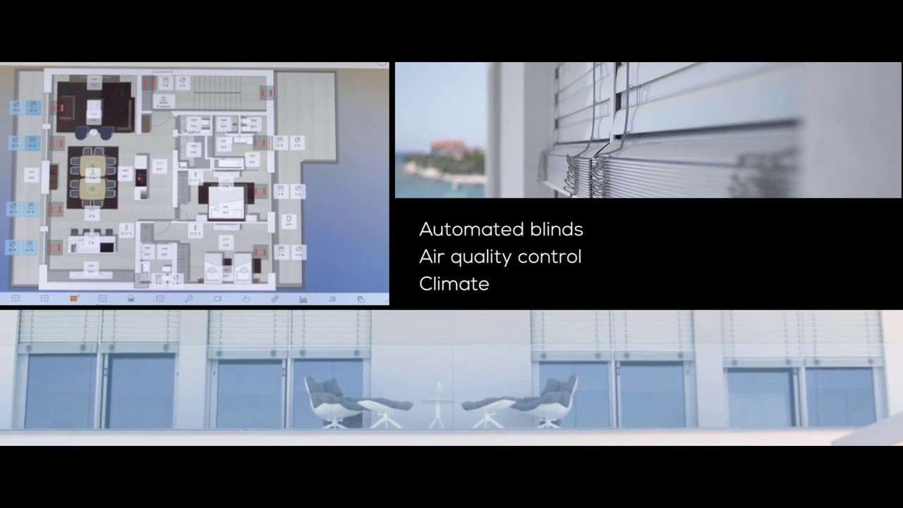 KNX Smart House - KNX Server and Android Wall Panel