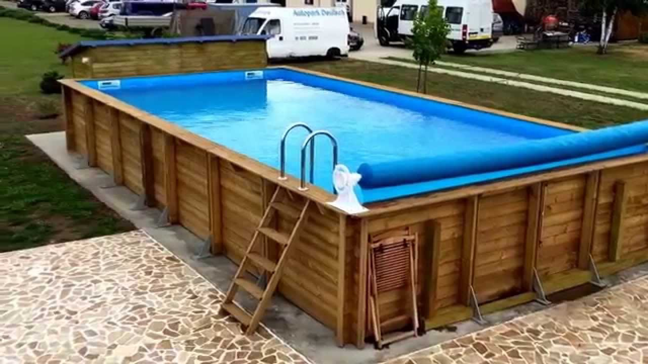 Wood Pool Decks  Landscaping Network