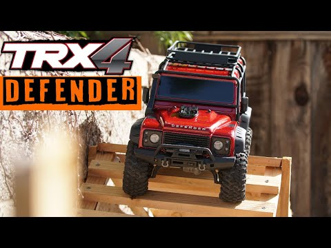 Unboxing the TRX4 Defender Traxxas | RC Obstacle Trail