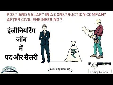 || Posts & Salary after Civil Engineering || इंजीनियरिंग जॉब में पद और सैलरी ||- By Er. Ajay Kaushik