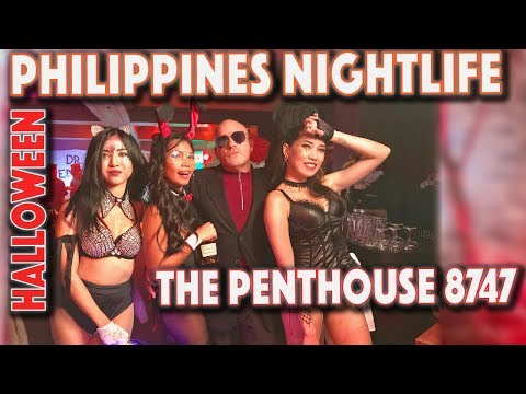 Crazy Manila nightlife at The Penthouse 8747 Makati Philippines