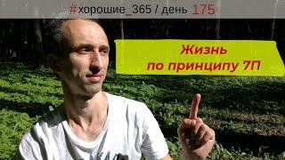#175 Блог. Минск. Саморазвитие. Жизнь по принципу 7П. Ключевые моменты.