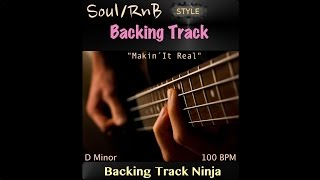 Soul/RnB Backing Track in D Minor, 100 BPM. [HIGH QUALITY]