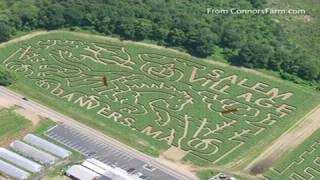 Family Stuck In Corn Maze Calls 911
