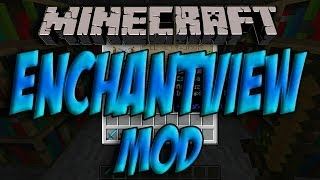 Minecraft 1.7.2 - Como Instalar ENCHANTVIEW MOD - ESPAÑOL [HD] 1080p