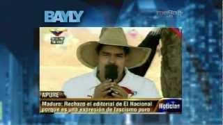 Jaime Bayly - Henrique Capriles y Nicolás Maduro 3/20/13