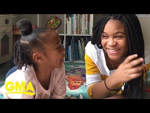 Sisters read bedtime stories live on Facebook   GMA Digital