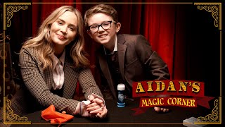 Aidan's Magic Corner: Emily Blunt's Mind Blown by Kid Magician Aidan McCann