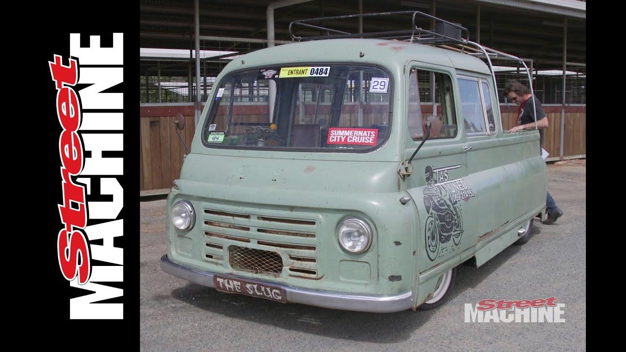 dcf86b0081 The Slug - Morris J2 Van Conversion - YouTube