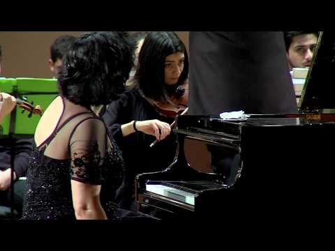 Shorena Tsintsabadze - Beethoven - Piano Concerto No 4 - MISA Youth Symphony
