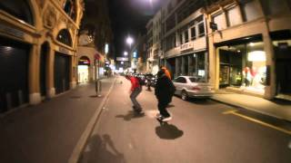 Night Ride #1 - best longboard urban movie