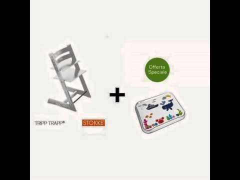 Offerta su seggiolone stokke tripp trapp vassoio table for Offerte stokke tripp trapp seggiolone