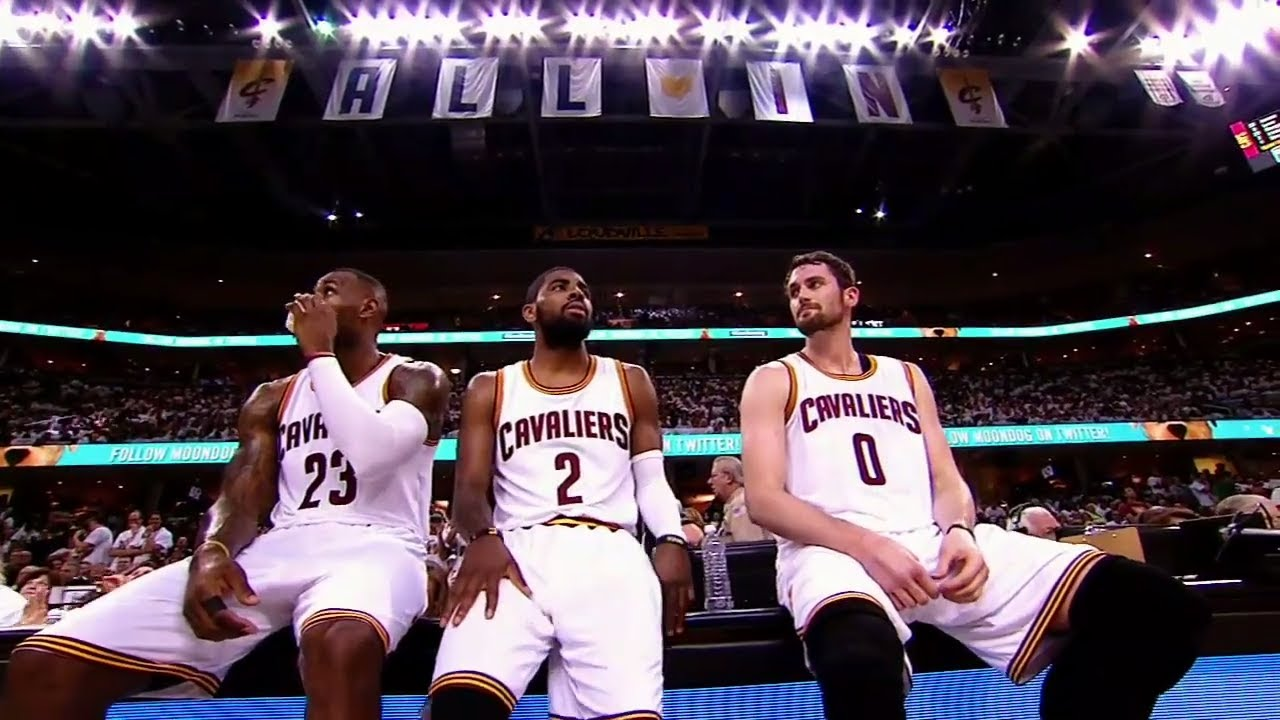 Image result for lebron kyrie love title