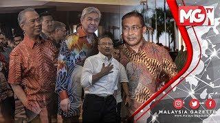 🎥  LENSA MGTV   KUNCI MULUT!!! Makan Malam Muafakat Ahli Parlimen