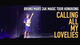 Bruno mars - Calling all my lovelies [cinemascope]_180512 24k magic tour hongkong