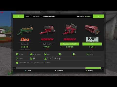 Farming Simulator 17 Platinum Seasons edition restart pt. 1 Paraguay Geo