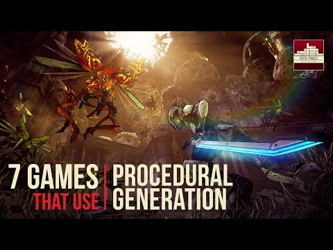 7 Games that use Procedural Generation