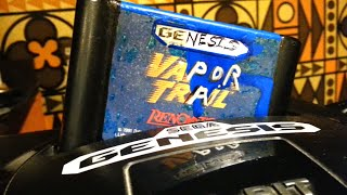 Classic Game Room - VAPOR TRAIL review for Sega Genesis