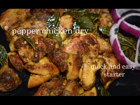 Pepper chicken dry recipe in kannadaquick and easy starterchicken pepper chicken dry recipe in kannadaquick and easy starterchicken pepper drychicken recipes forumfinder Image collections