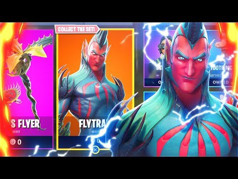 New FREE FLYTRAP SKIN In Fortnite Battle Royale! New FLYTRAP SKIN Update! (New Fortnite Skins)