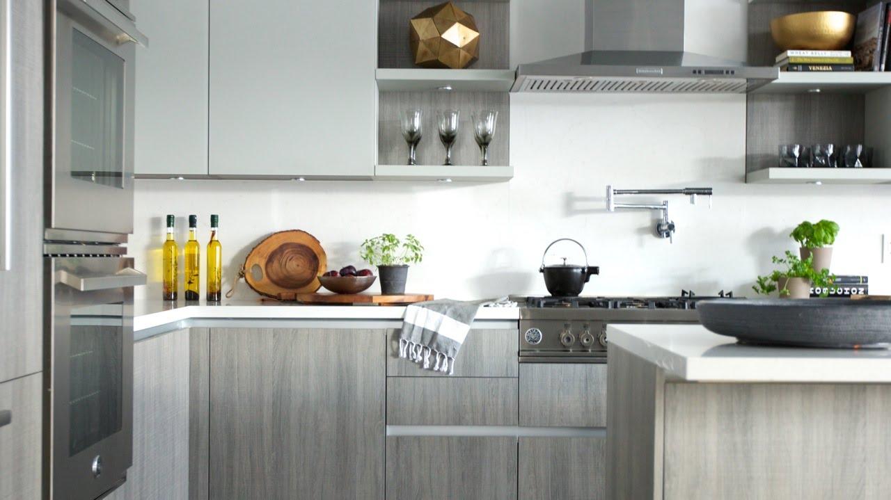 Interior Design How To Design A Spacious Warm Storage Filled Kitchen Youtube