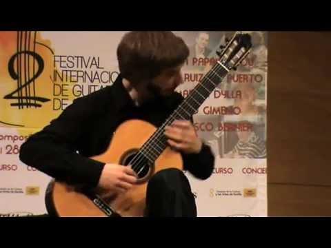 Final 2º Concurso Internacional de Guitarra Clásica de Sevilla
