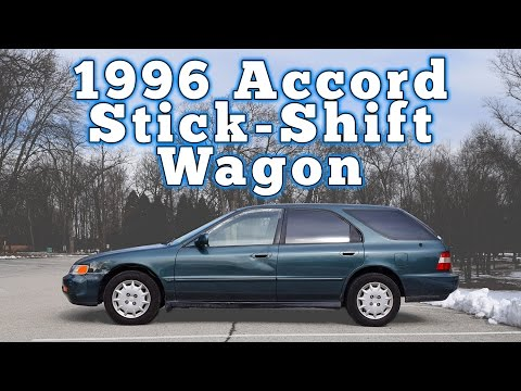 1996 Honda Accord Wagon 5-Speed: Regular Car Reviews