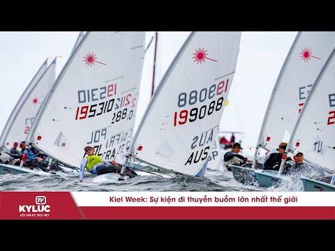 Bản Tin Kỷ Lục: Sự kiện đi thuyền buồm lớn nhất thế giới Kiel Week