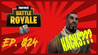 HACKS??? Daily Twitch Moments Ep.024 (Fortnite Battle Royale Best Moments)