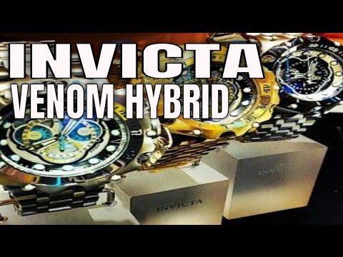 Invicta Watches : Invicta Venom Hybrid Watch Review