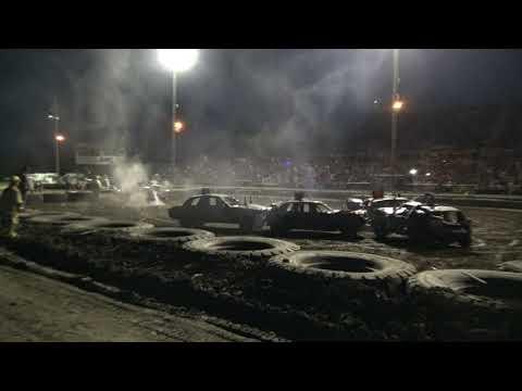 Mandan Demolition Derby 2019 - Dacotah Speedway - Limited Class
