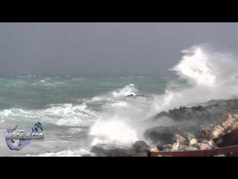 High Wind Gusts Hit Bermuda Jan 23rd 2011