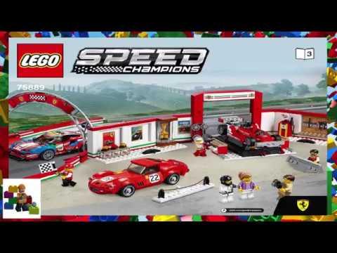 Lego Instructions Speed Champions 75889 Ferrari Ultimate