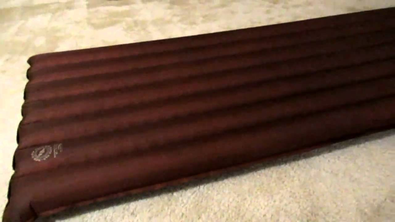 Big Agnes Insulated Air Core Mattress Youtube