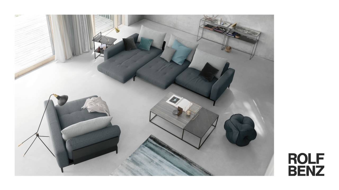 m bel pfister sofa tira von rolf benz youtube. Black Bedroom Furniture Sets. Home Design Ideas