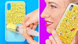 Download lagu PROYEK DIY SERU UNTUK HP || Trik Kerajinan Kreatif untuk Ponsel-mu