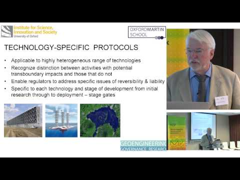 Climate engineering: Responsible Innovation or Reckless Folly? Steve Rayner | MVI Congress 2015