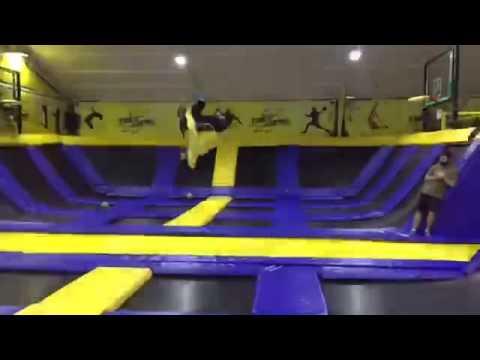 Fizz Zone indoor trampoline park in Lebanon