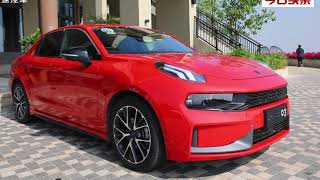 Lynk & Co 03 red devil car test drive and offical review