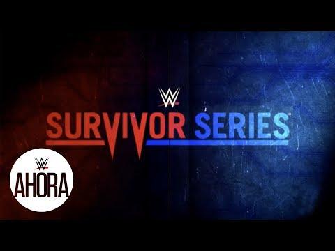 Este domingo Survivor Series: WWE Ahora