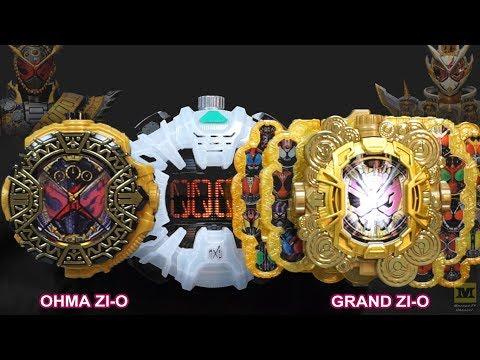 DX OHMA ZI-O + DX GRAND ZI-O Ridewatch | DX Ziku Driver (Kamen Rider GRAND OHMA ZI-O) ENG SUB