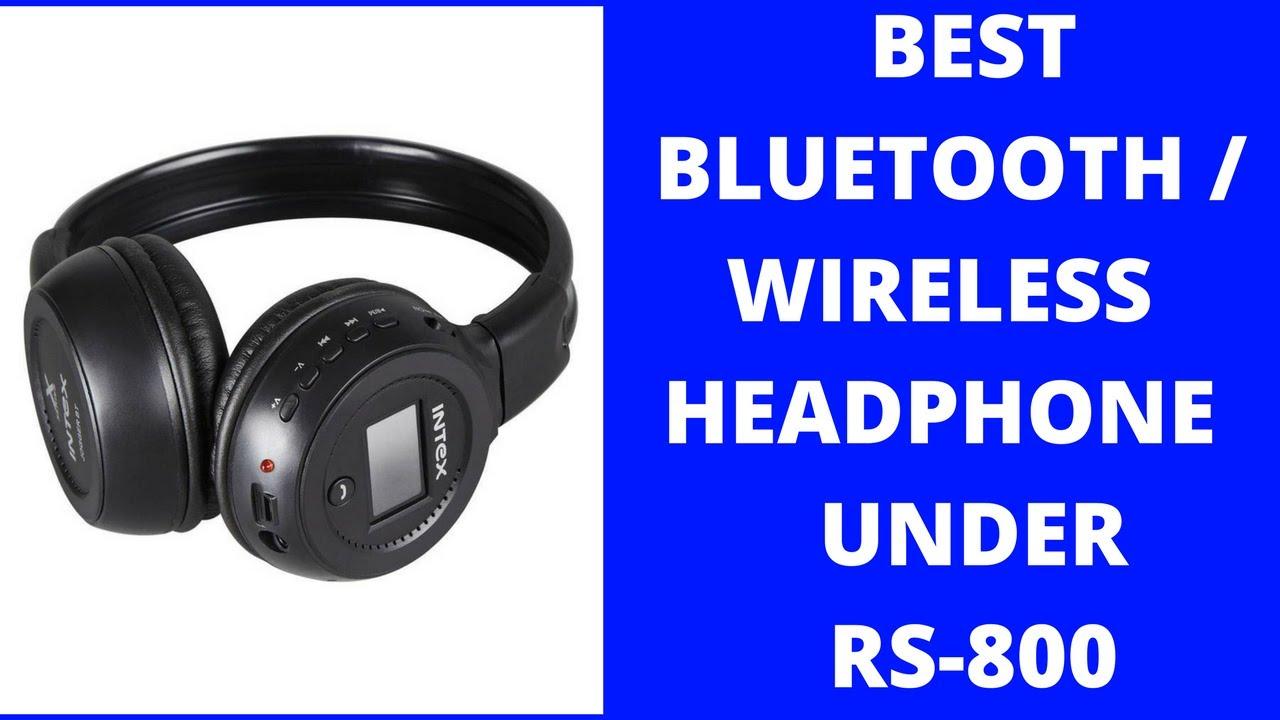 2817a2bdfa6 Top bluetooth headphone Reviews under 800 in hindi | intex bluetooth  headphone | jogger bt