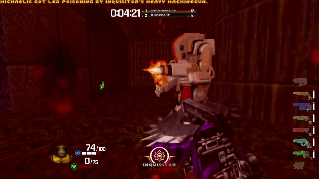 Play Quake Champions for Free    in the original Doom