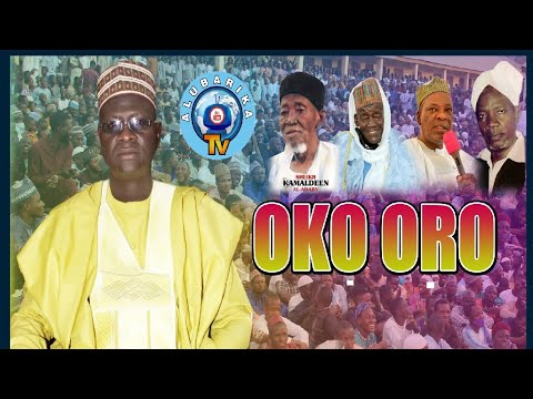Download Trending! Oko Oro   Sheikh Uthman Sannu Sheu drop bombshell Lecture at Ansarul-Islam Adabiyyah Empir
