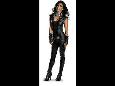 Women S Guardians Of The Galaxy Gamora Halloween Costume Youtube
