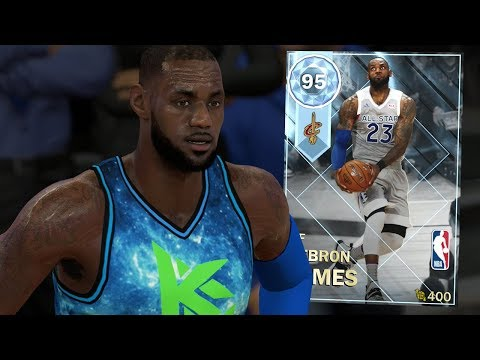 DIAMOND LEBRON JAMES GAMEPLAY!! BEST SMALL FORWARD?! (NBA 2K18 MYTEAM)