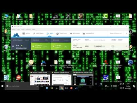 Bitcoin Mining (PC) Nicehash - Minergate & Slushpool