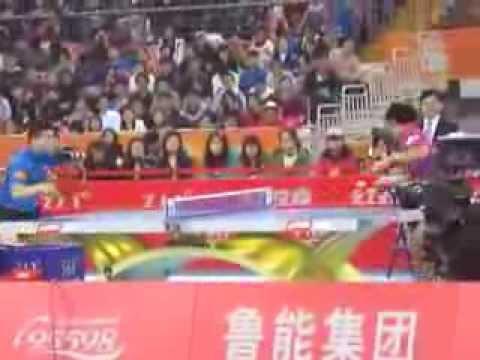 2013 China Super League-Men's Semifinal(4th Game): Zhang Jike(Shandong) vs Ma Long(Ningbo)