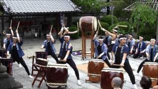 2016年5月3日、京都・法住寺 曲目:1.燦、2.輝(かがやき) -和太...