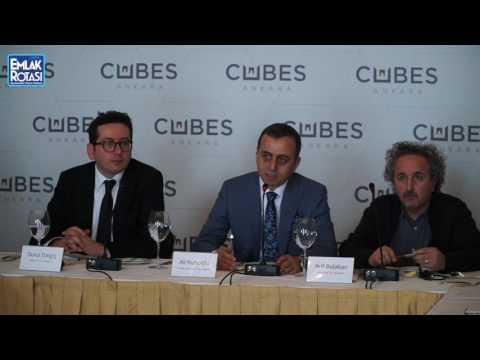 Cubes Ankara Basın Toplantısı